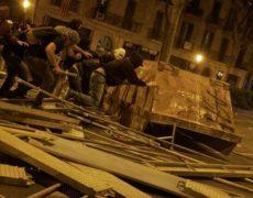 Independentistas desengañados, anarquistas y jóvenes apolíticos: el núcleo duro de los disturbios en Catalunya. Pol Pareja. <i>eldiario.es</i>
