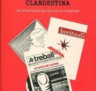 Giaime Pala: Cultura Clandestina. Los Intelectuales del PSUC bajo el Franquismo. Presentación libro.