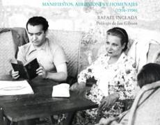 «Federico García Lorca. Manifiestos, adhesiones y homenajes (1916-1936)» de Luis Inglada, editado por la Diputación de Granada