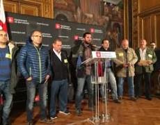 Huelga en el Metro de Barcelona. <i>sinpermiso</i>